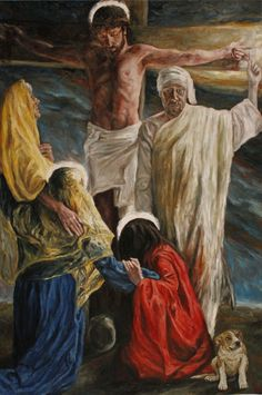 Rob Floyd Fine Art - Stations of the Cross, The Crucifixion (Twelfth Station)240cm x 160cm