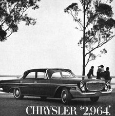 Detail from 1962 Advertisement for the Chrysler Newport