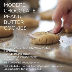 Modere Chocolate Peanut Butter Cookies