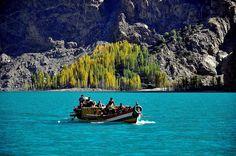 Attaabad Lake, Northern Pakistan.