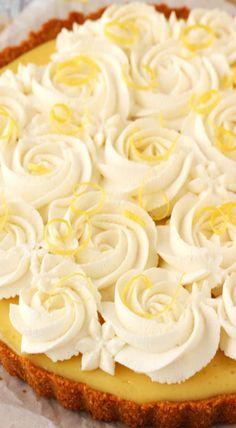 Creamy Lemon Tart More