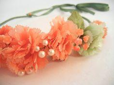 JESS+Vintage+Bead+Embellished+Flower+Bridal+by+ZoeGraceBlooms,+$43.00