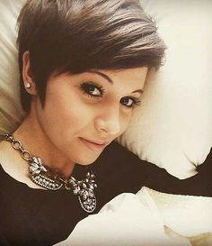 19.Long Pixie Cut Hairstyle