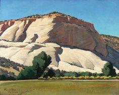 Maynard Dixon White Butte, Utah 16 x 20 Landscape Art, Landscape Paintings, Desert Landscape, Landscapes, Maynard Dixon, Southwestern Art, Desert Art, Great Paintings, Watercolor Artists