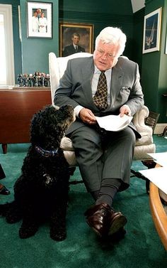 Ted Kennedy loved his Portuguese water dogs, taking them to his ...