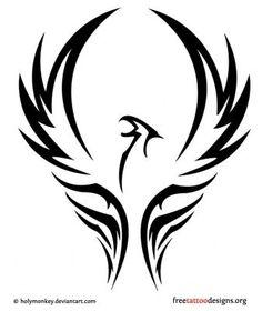 """Résultat de recherche d'images pour """"phoenix dessin simple"""""""