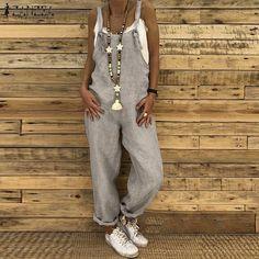Abetteric Women Outdoor Camo Workout Zipper Jumpsuit Trousers with Pockets