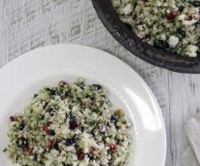 Cauliflower 'cous cous', pomegranate, pistachio salad | Official Thermomix Recipe Community