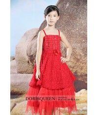Beading Inforescence flower girl dress H024