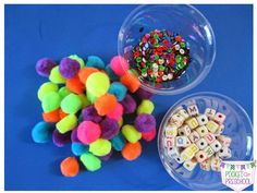 Use materials from the dollar store to make sensory bottles. Pocket of Preschool