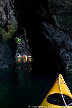 Kayaking in Kachemak Bay near Halibut Cove, Alaska.  Will do this when we plan our Trip to Alaska.