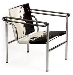 Wassily Sling Chair in cowhide