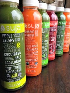 My Suja Juice 3 day cleanse! Whole Foods carries it❤️