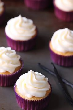 Favorite Vanilla Cupcakes from @Ali Ebright (Gimme Some Oven)