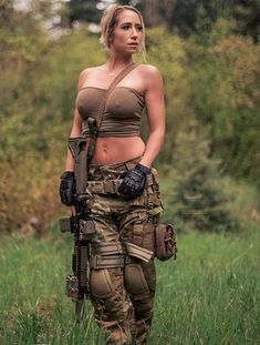 ;-)~❤️~ Guns Weapons Girls::: sexy girls hot babes with guns beautiful women weapons  #girlswithguns #babeswithguns #hotgirlswithguns