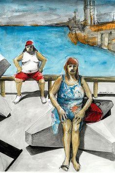 Mar&Vi Creative Studio - España: Ilustración: Maximiliano Chimuris, nuestro artista particular