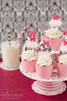"""Twinkie Cupcakes. """"A simple and easy yellow cake ...filled with an amazing marshmallow cream filling that's completely irresistible, and topped with fluffy marshmallow buttercream…even better than actual Twinkies."""""""