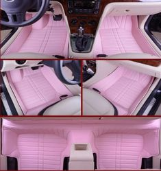 Girly car floor mats auto pink car mats car accessories for girls cool jeep accessories car Cool Jeep Accessories, Car Accessories For Women, Car Interior Accessories, Vehicle Accessories, Wrangler Accessories, Jeep Rose, Ford Gt, Accessoires Jeep, Truck Accessories