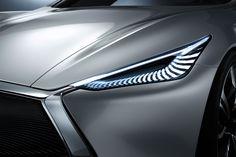 Infiniti Q80 Inspiration Concept - LED Headlight