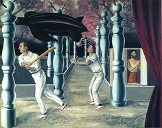 René Magritte. Le Joueur secret (The Secret Player). Brussels, 1927