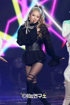Hyoyeon at Music Core #MYSTERY