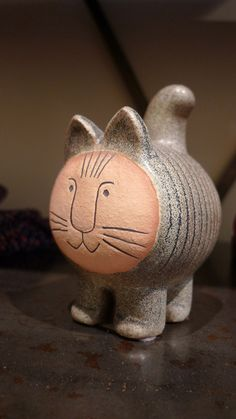 Cat by Lisa Larson produced by Gustavsberg of Sweden