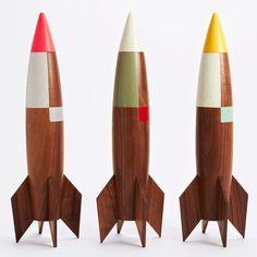 Cohetes de madera ... Haré unos