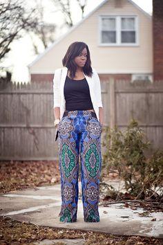 fuckyeaafricans:  blackfashion:  Pants: Zara Blazer: HM Ada, NY Fashion Photographer and blogger www.afrizion.com  Nigerian