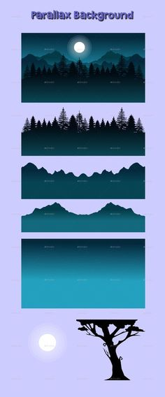 """Buy Silhouette Shadow Tileset and Background by prmsdk on GraphicRiver. This """"Silhouette Shadow Tileset and Background"""" is designed for you that want to make a game with silhouette-themed 2d Game Background, Background Drawing, Pixel Art Background, Bg Design, Game Design, Design Ideas, Graphic Design, Piskel Art, Cosmos"""