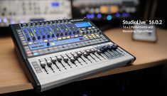 This PreSonus mixer is out of my price range, but oooh, it looks really cool!