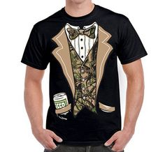 d287212082b29 Items similar to Camo Tuxedo T Shirt - Camouflage Tux - Redneck Tuxedo -  Duck Dynasty - 12137 on Etsy