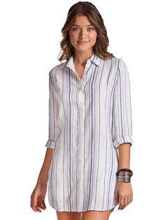Landlubber Gentleman Linen Shirt for women
