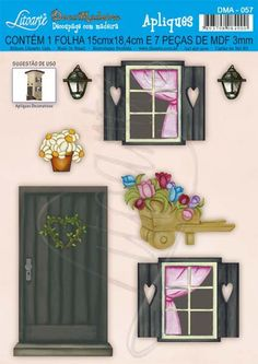 Diy Para A Casa, Clay Wall Art, Paper Doll House, Glitter Houses, Decoupage Paper, Paper Jewelry, Barbie Furniture, Barbie House, Diy Home Crafts