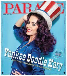 LifeAficionada, Katy Perry • Parade Magazine, July 2012