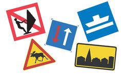 Liikennevirasto | Liikennemerkit ja turvalaitteet Science Art, Science And Nature, Citizenship, Teaching, Education, Logos, School, Logo, A Logo