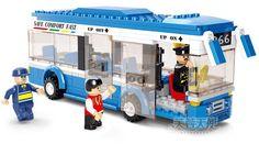 Free shipping educational plastic model building blocks kit assembled toy city bus creative kindergarten kids children gift 1 pc #Affiliate