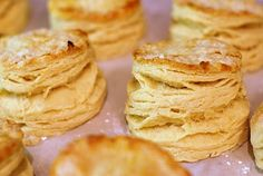 The trick for flaky buttery biscuits