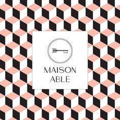 """Identité visuelle de la boutique """"Maison Able"""" à Tokyo (création : Kanta Desroches)"""