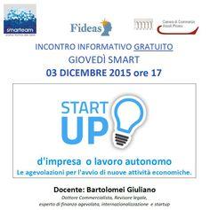 Giovedì Smart: StartUp d'Impresa o Lavoro Autonomo | Il Mascalzone - San Benedetto del Tronto - l'informazione della riviera adriatica a portata di mouse