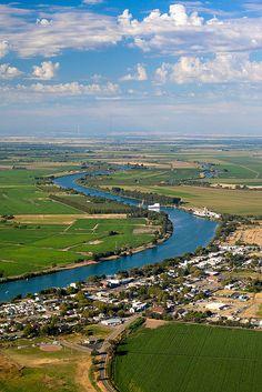 Isleton, Sacramento River Delta, California by Anthony Dunn
