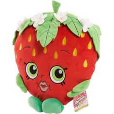 Shopkins Cuddle Plush, Strawberry Kiss - Walmart.com