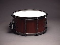 "Purple heart snare drum by JJ Savage, 7"" x 14"""