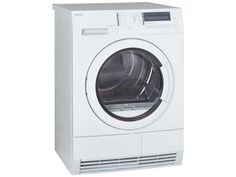 John Lewis JLTDH20 Heat Pump Condenser Tumble Dryer, 8kg Load, White