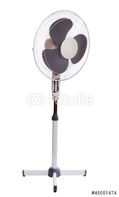 Electric fan - Buy this stock photo and explore similar images at Adobe Stock Tower Fan, Electric Fan, Royalty Free Stock Photos, Electric Cooling Fan