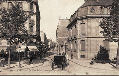 Paris 7e - rue Saint-Dominique vers 1900