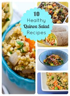 10 Healthy Quinoa Salad Recipes!