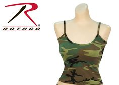Rothco Woodland Camo Tank TopOnly $8.83*Price subject to change without notice.