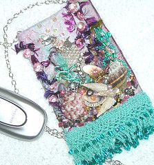 Cellphone Pouch Finishing Tutorial By Pamela Kellogg of Kitty and Me Designs