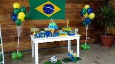 """Festa """"A Copa do Arthur"""" - No clima da Copa do Mundo para comemorar os 9 anos do Arthur!"""