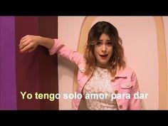 """Violetta y Ludmila cantan """"Si Es Por Amor"""" - Sing Along / Karaoke / Letra (HD)"""